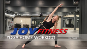 YOGA Home Workout mit Alicia
