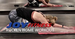 RÜCKEN Home Workout mit Lena